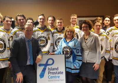Visit from the Victoria Grizzlies